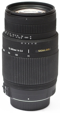 Sigma 70-300mm f/4,0-5,6 DG OS pro Pentax