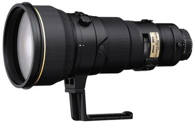 Nikon 400 mm F2,8D AF-S II ČERNÝ
