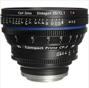 Zeiss Compact Prime CP.2 Distagon T* 35mm f/2,1 pro Canon