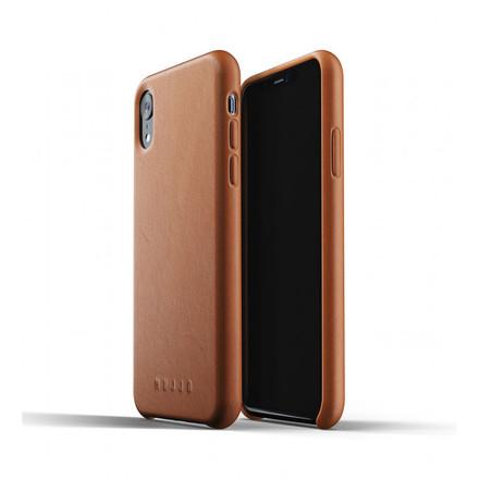 Mujjo kožené pouzdro (celotělové) pro iPhone XR