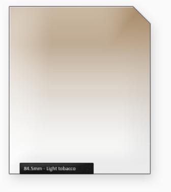 84.5mm Classic 100mm filtr slabý tabák