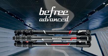 Nové stativy Manfrotto Befree Advanced a řada GT