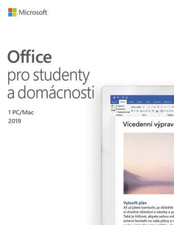 Microsoft Office 2019 pro studenty a domácnosti