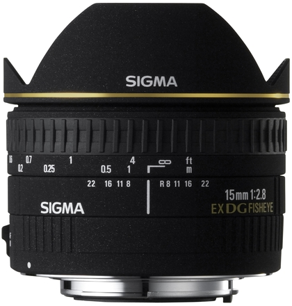 Sigma 15mm f/2,8 EX DG DIAGONAL rybí oko pro Nikon