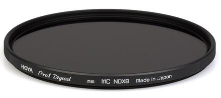 Hoya šedý filtr NDX 8 Pro 1D digital 82mm