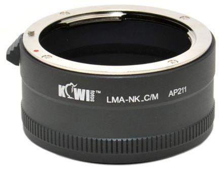 JJC adaptér z Nikon F na Canon M