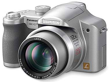Panasonic DMC-FZ7 stříbrný + SD 512 MB