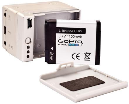 GoPro nabíječka + přídavná baterie