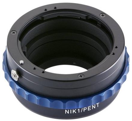 Novoflex adaptér z Pentax K na Nikon 1