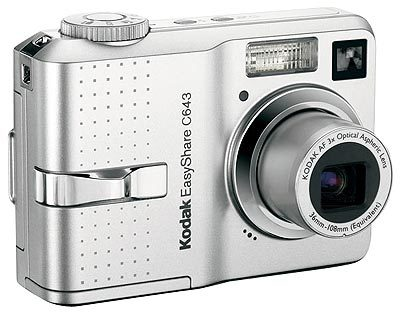 Kodak EasyShare C643 / C603 + nabíječka + akumulátor