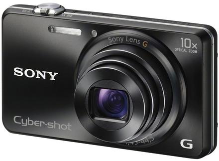 Sony CyberShot DSC-WX200 černý + 16GB karta + originální pouzdro + náhradní akumulátor!