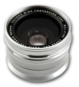 Fujifilm širokoúhlá předsádka WCL pro X100, X100S, X100T