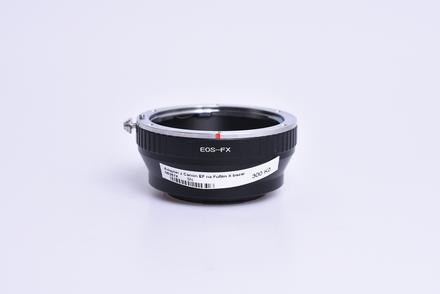 Adaptér z Canon EF na Fufilm X bazar