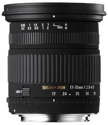 Sigma 17-70 mm f/2,8-4,5 DC Macro pro Nikon