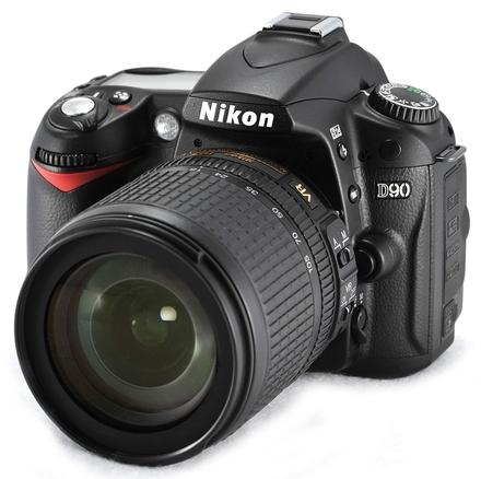 Nikon D90 + 18-55 AF-S VR