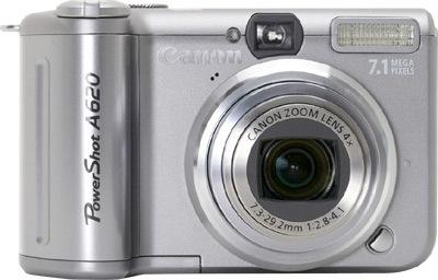 Canon PowerShot A620 + pouzdro