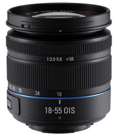 Samsung NX 18-55mm f/3,5-5,6 III O.I.S. černý