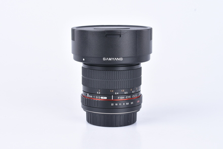 Samyang 8 mm f/3,5 CSII pro Canon bazar