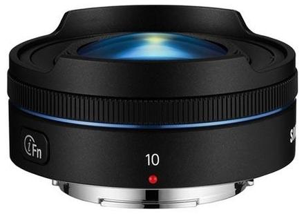 Samsung NX 10mm f/3,5 černý