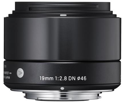 Sigma 19mm f/2,8 DN Art pro micro 4/3 černý