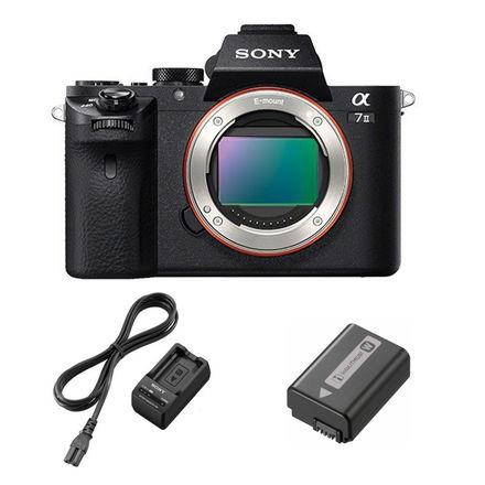 Sony Alpha A7 II tělo - Power kit