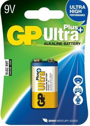 GP baterie 9V Ultra Plus