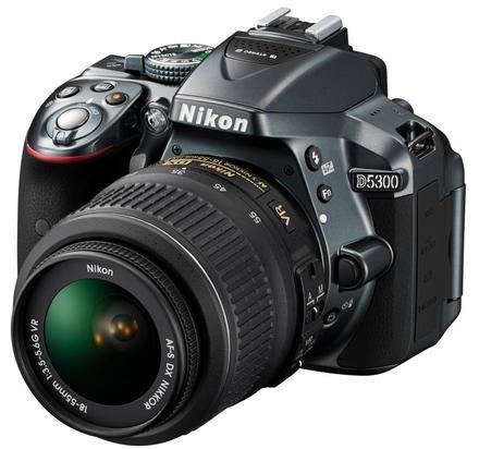 Nikon D5300 + 18-55 mm VR II šedý