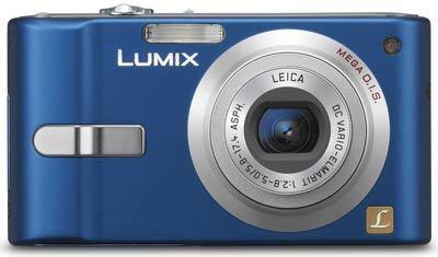 Panasonic DMC-FX10 modrý