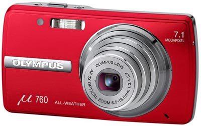 Olympus Mju 760 červená