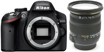 Nikon D3200 + Sigma 17-50 mm f/2,8 EX DC OS HSM!