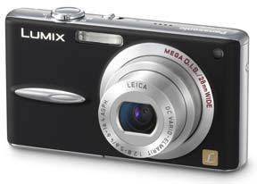Panasonic DMC-FX30 černý
