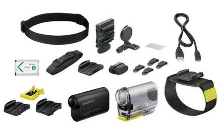 Sony HDR-AS30 Action Cam Wearable kit