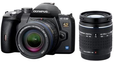 Olympus E-510 Double Zoom Kit