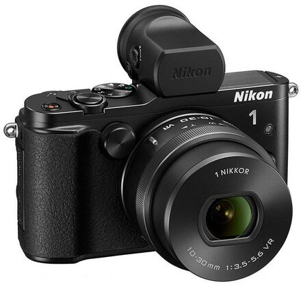 Nikon 1 V3 + 10-30 mm VR PD-ZOOM + GR-N1010 + DF-N1000