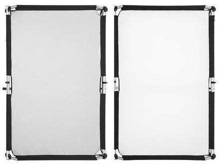 Fomei Quick Clap II - návlek na odraznou desku stříbrný/bílý