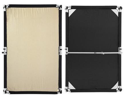 Fomei Quick Clap II - návlek na odraznou desku zlatostříbrný/černý