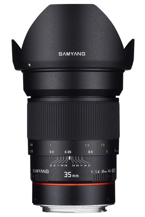 Samyang 35mm f/1,4 AS UMC pro Samsung NX