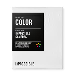Impossible film Color pro Impossible Cameras