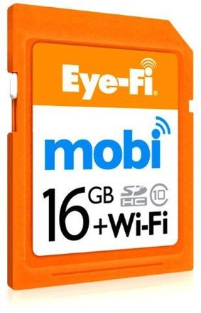 Eye-Fi SDHC 16GB Mobi Wifi