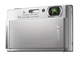 Sony DSC-T300 stříbrný