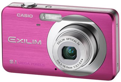 Casio EXILIM Z80 fialový