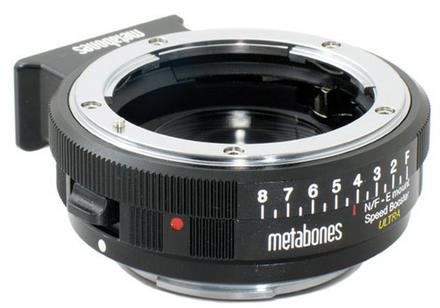 Metabones Speed Booster ULTRA 0.71x z Nikon G na Sony E
