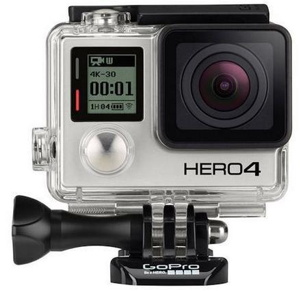 GoPro HERO4 Silver + sada na motorku!