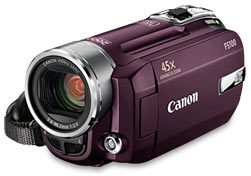 Canon FS100 vínový