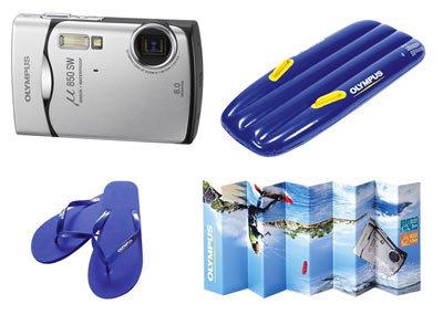 Olympus Mju 850 SW Summer Kit
