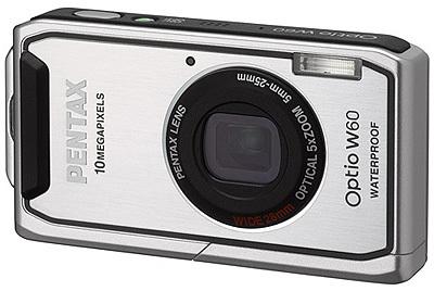 Pentax Optio W60 stříbrný