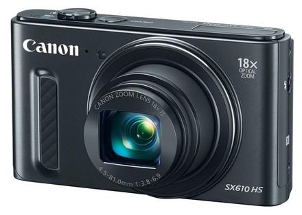 Canon PowerShot SX610 HS černý