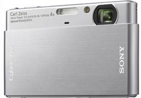 Sony DSC-T77 stříbrný