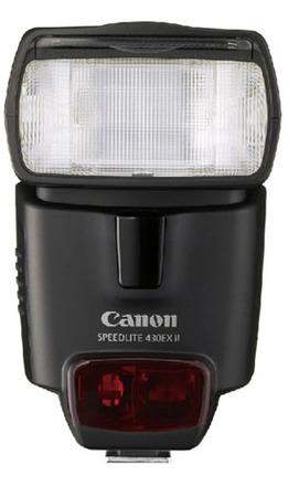 Canon blesk Speedlite 430 EX II + portrétní set + nabíječka s 4x AA 2450 mAh!