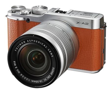 Fujifilm X-A2 + 16-50 mm II bílý